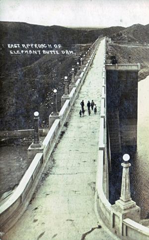 Walk Across Elephant Butte Dam